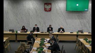 Lidia Staroń Marcin Wiącek. Przesłuchanie kandydatów na RPO Komisja Sprawiedliwości (część 2)