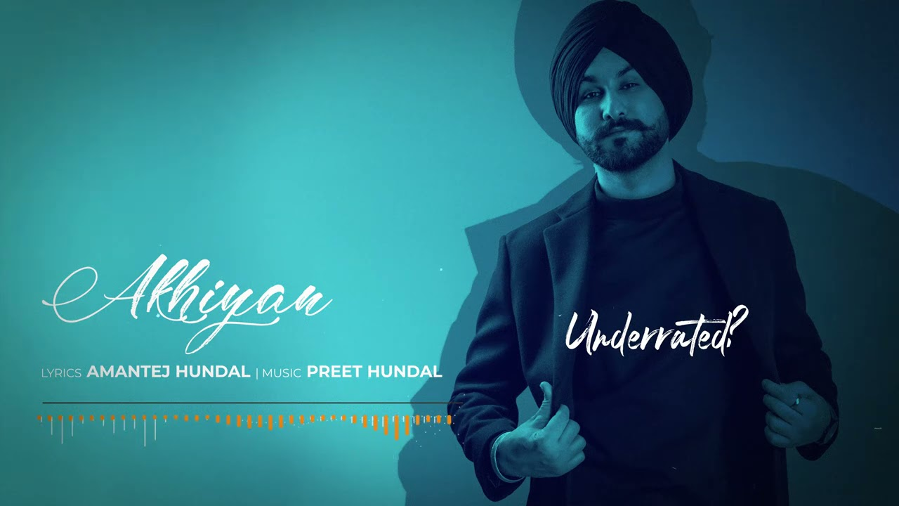 AKHIYAN - Amantej Hundal | Underrated(Full Album) | Latest Songs Punjabi 2021