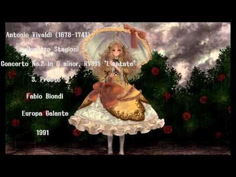 Vivaldi: L'estate - 4 famous period recordings are listen and compare