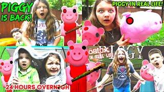 PIGGY IN REAL LIFE The MOVIE! ROBLOX PIGGY REWIND!
