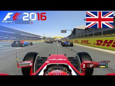 F1 2016 - 100% Race at Silverstone, United Kingdom in Räikkönen's Ferrari
