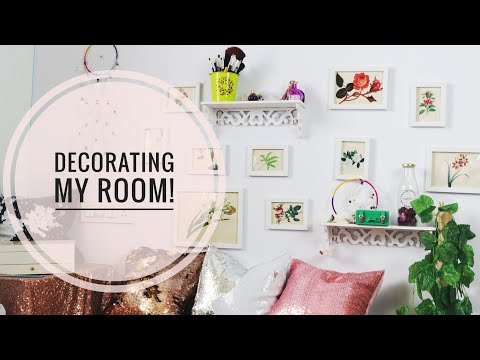 Cheap Room Decor Ideas _ MY NEW ROOM!  _ Easy Affordable Room Decor SuperWowStyle Prachi