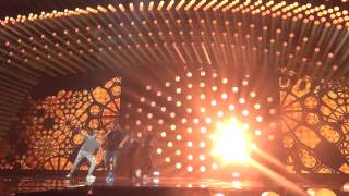 ESCKAZ in Vienna: Nadav Guedj (Israel) - Golden Boy (final dress rehearsal)