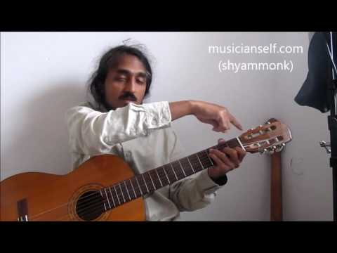 [chords] try out Kanmani Anbodu Ilayaraja song: How to find chords by yourself