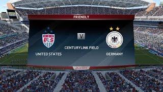 FIFA 16 Demo (PC) - USA vs GERMANY (WOMEN