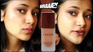 DAY 1 Lakme Invisible Finish Foundation Base Products Under Rs 200