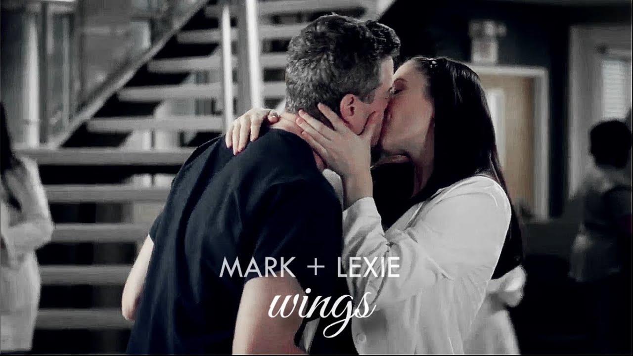 Mark Sloan Lexie Grey