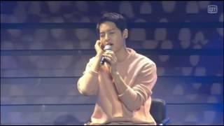 160521 송중기 Song Joong Ki FM sing