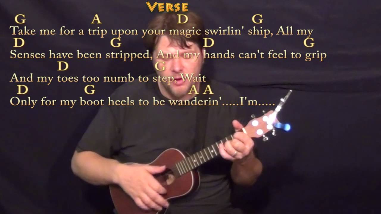 Mr Tambourine Man The Byrds Ukulele Cover Lesson With Chords