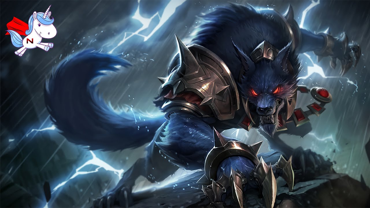 Bien connu League of Legends : Test du loup garou en Jungle - YouTube HW92