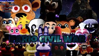 FNAF Plush: The Last Loose Ends - Fario Civil War (OFFICIAL MOVIE) Ft: Funtime Jr 66