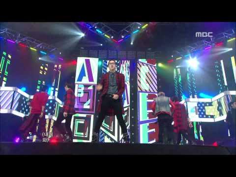 B1A4 - My Love 비원에이포 - 마이 러브 Music Core 20111203