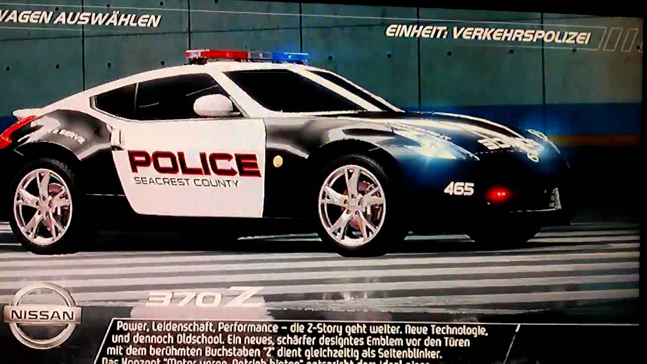Need for Speed Hot Pursuit 3 2010 - E3 Pursuit Nissan 370Z ...