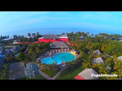 Las Hojas Resort - Drone de papaloteando - El Salvador