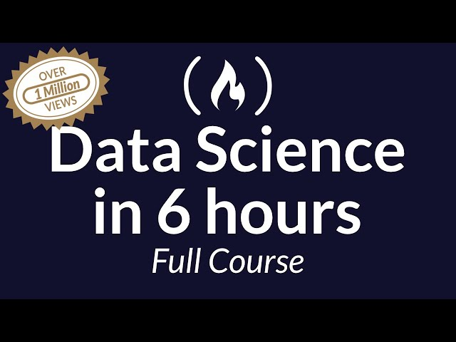 Learn Data Science Tutorial - Full Course for Beginners