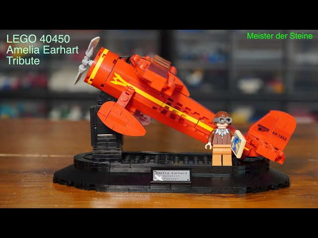 Lego 40450, Amelia Earhart, Tribute, Meister der Steine