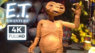 [4K] E.T. Adventure Full Experience (Ride POV + Queue) Universal Studios 2020