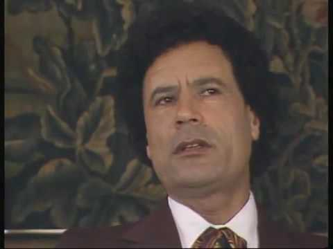 Muammar Gaddafi interview in 1982 part 2