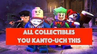Lego DC Super Villains You Kanto-Uch This Free Play 100% all Minikits and Collectibles