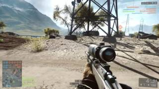 M40A5 SNIPING! Battlefield 4 Multiplayer Sniper Gameplay (BF4 Aggressive Recon)