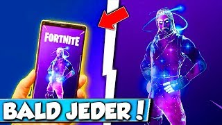 ❌GALAXY SKIN with EVERY ANDROID DEVICE Get in FORTNITE?!? 😱