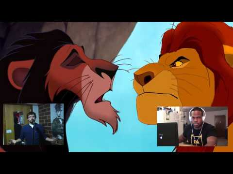 Lion King Voice Over with Tyrone Magnus! (Mufasa and Scar)