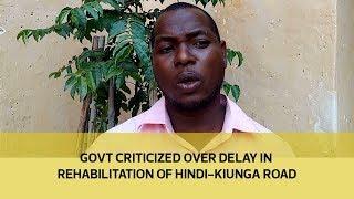Government criticized over delay in rehabilitation of Hindi-Kiunga road thumbnail