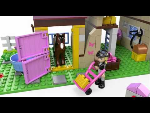 Lego Friends Heartlake Stables Lego 3d Review Youtube