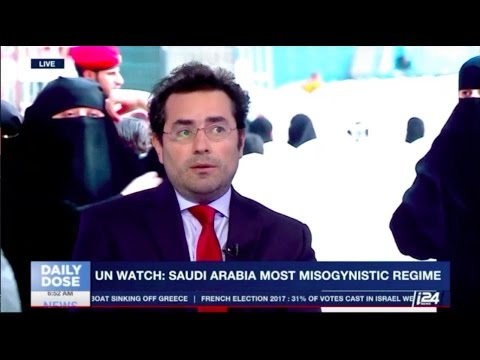 U.N. elects Saudi Arabia to women's rights commission - Hillel Neuer on i24 News