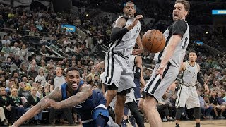 Video LaMarcus Aldridge 39 Points! Manu Ginobili 40 Year Old Dunk! 2017-18 Season download MP3, 3GP, MP4, WEBM, AVI, FLV Maret 2018