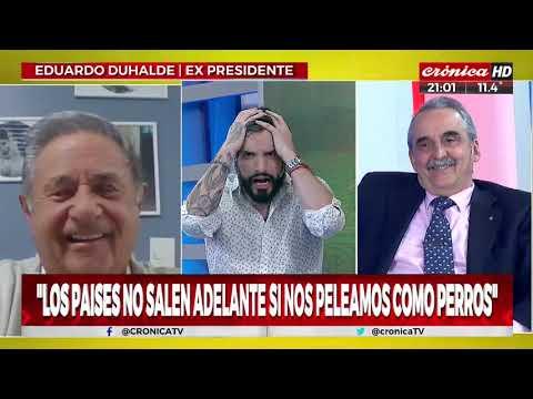 """Eduardo Duhalde:  """"Para Cristina Perón era un viejo de m..."""""""