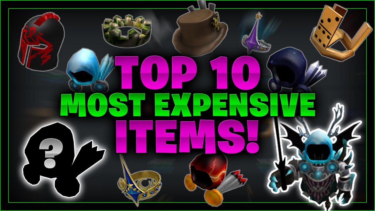 Top 10 Most Expensive Roblox Items Why Linkmon99 Roblox