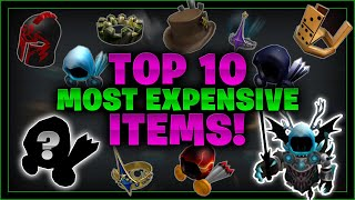 Top 10 MOST EXPENSIVE ROBLOX Items (& WHY!) - Linkmon99 ROBLOX