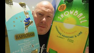 Drinks of the 70's. Babycham and Snowball.