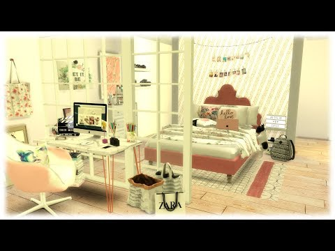 The Sims 4: Speed Build // YouTubers Bedroom
