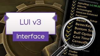 LUI v3 - Interface Tipp [WoW]