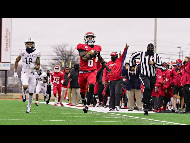 Delaware State Hornets beat Howard Bison with Walk Off Pick 6 || FCS SPRING FOOTBALL 2021