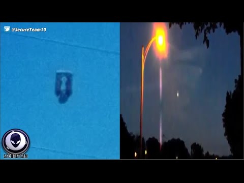 Craziness! UFO Stalks Kids & Men Go CRAZY Over Alien Sighting! 7/31/16