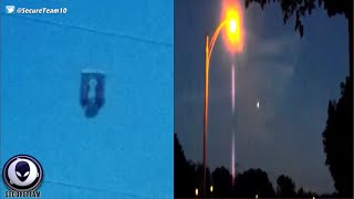 UFO Filmed by Child & Men Go CRAZY Over Sighting