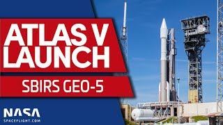 LIVE: ULA's Atlas V rocket launches SBIRS GEO-5