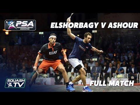 PSA Rewind: Ashour V ElShorbagy - Full Squash Match - 2015 El Gouna Final