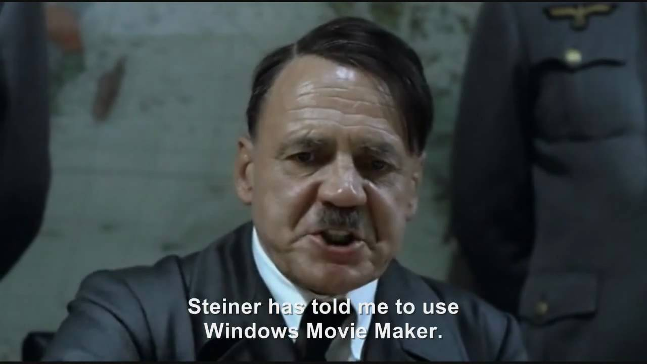 Hitler plans to make a Downfall Parody