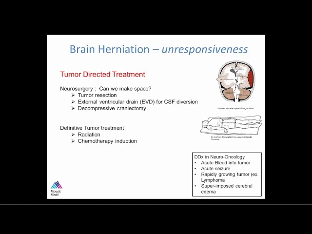 Neuro-Oncologic Emergencies: Herniation, Malignant Cord Compressions, Leptomeningeal Carcincomatosis