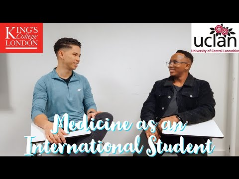 Studying Medicine As An International At UCLan | Botswana To The UK | Sean's Story