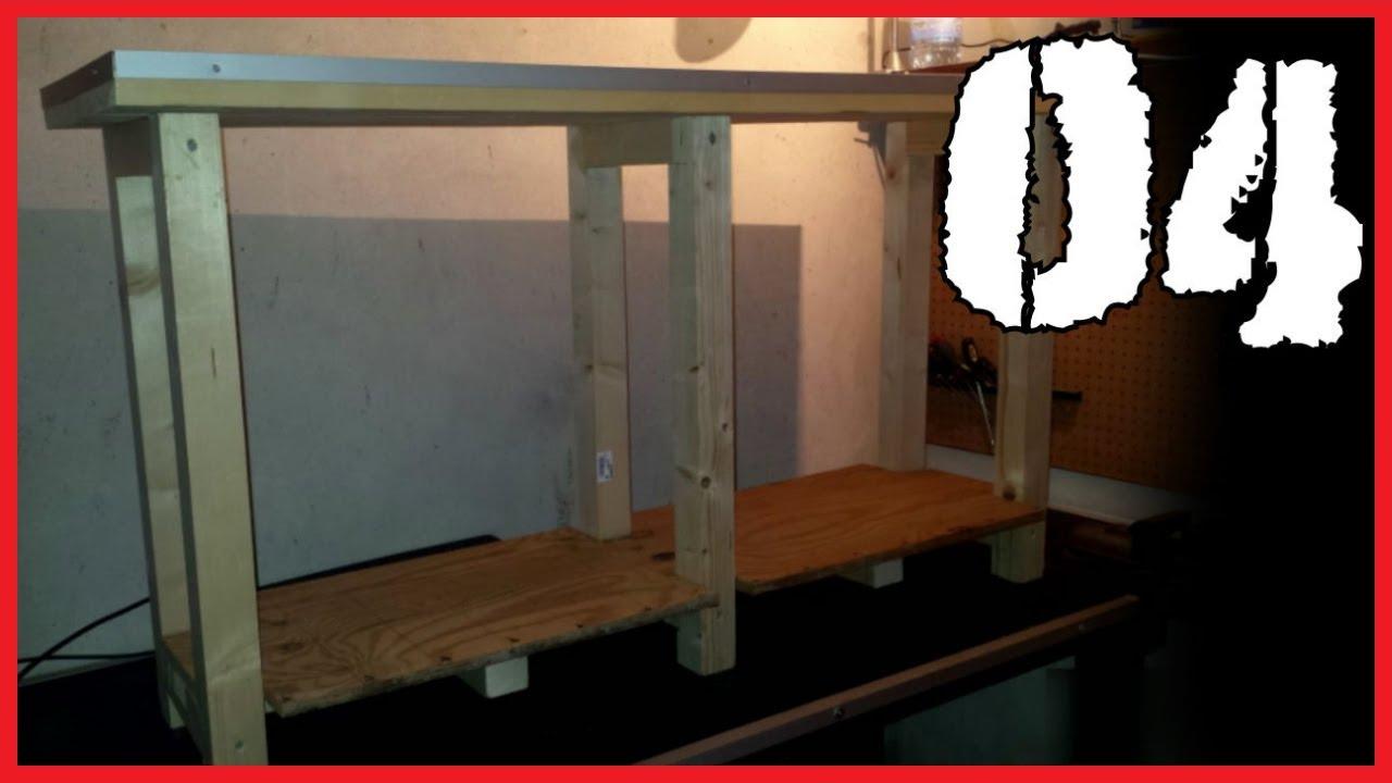 Tavolo Da Lavoro Economico : 04 costruire un tavolo da lavoro economico how to build an