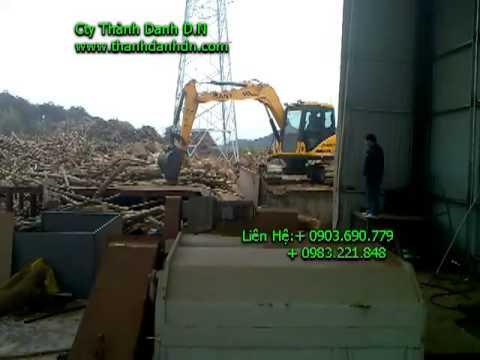 MÁY CHẾ BIẾN GỖ- Dây chuyền băm gỗ tròn - công suất 50 tấn/ giờ :CTY THÀNH DANH: + 0903.690.779