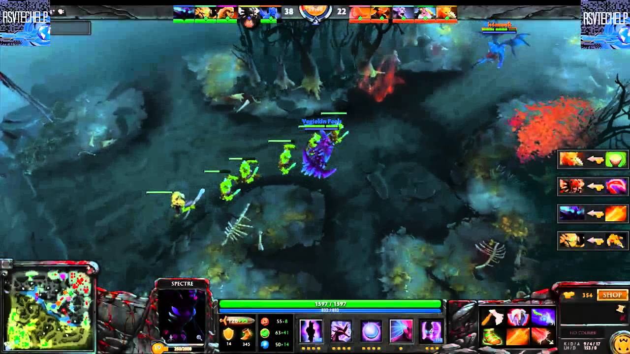 dota 2 gameplay highlights medium co op bot match youtube