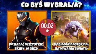WHAT WOULD YOU CHOSE? FREE SAVE THE WORLD OR ALL SKINS? And the TOUGHEST TEST of FORTNITE and Rost