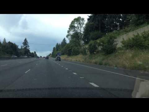Drive South on I-5 through Vancouver, Washington