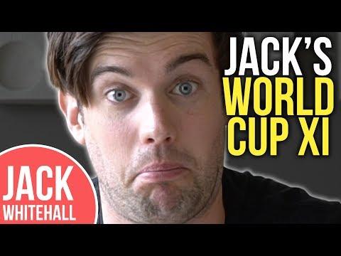 Jack Whitehall's World Cup XI  Neymar? Cristiano Ronaldo? De Gea?!